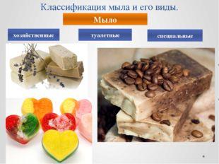 Классификация мыла и его виды. Мыло хозяйственные туалетные специальные