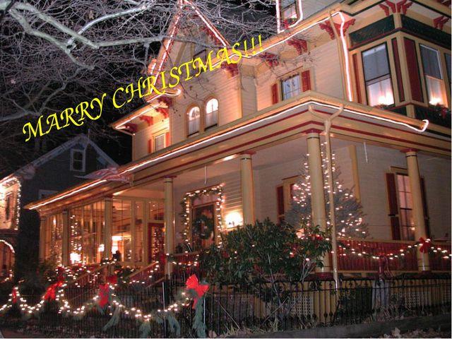 VERRy Christmas! MARRY CHRISTMAS!!!