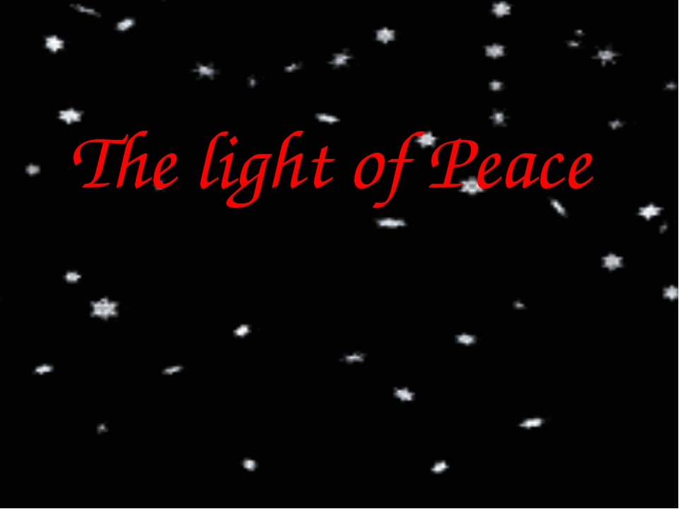 The light of Peace