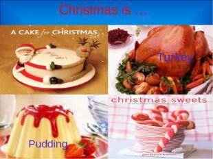 Christmas is … Pudding Turkey