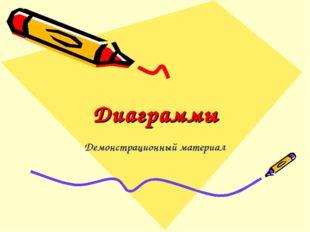 Диаграммы Демонстрационный материал