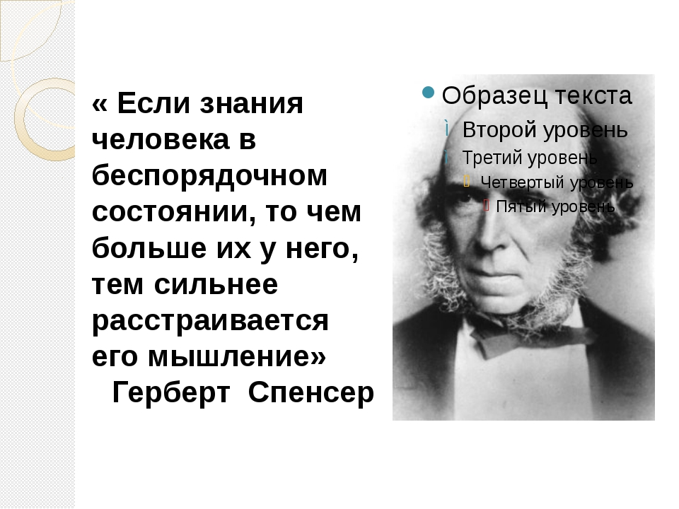 « Если знания человека в беспорядочном состоянии, то чем больше их у него, т...