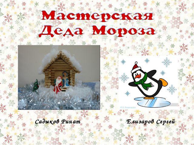 Садыков Ринат Елизаров Сергей