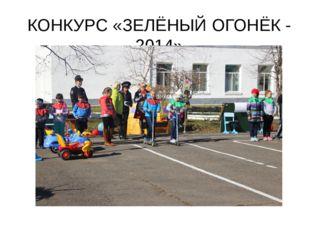 КОНКУРС «ЗЕЛЁНЫЙ ОГОНЁК - 2014»