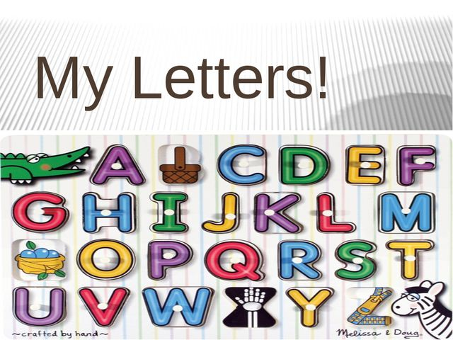 My Letters!