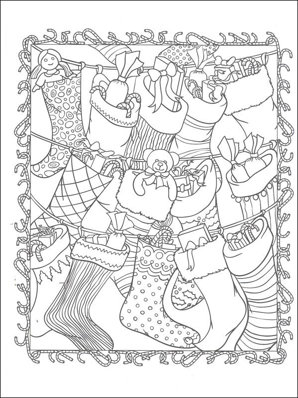 ChristmasScapes Coloring Book (Creative Haven)   Additional Photo (Inside Page):