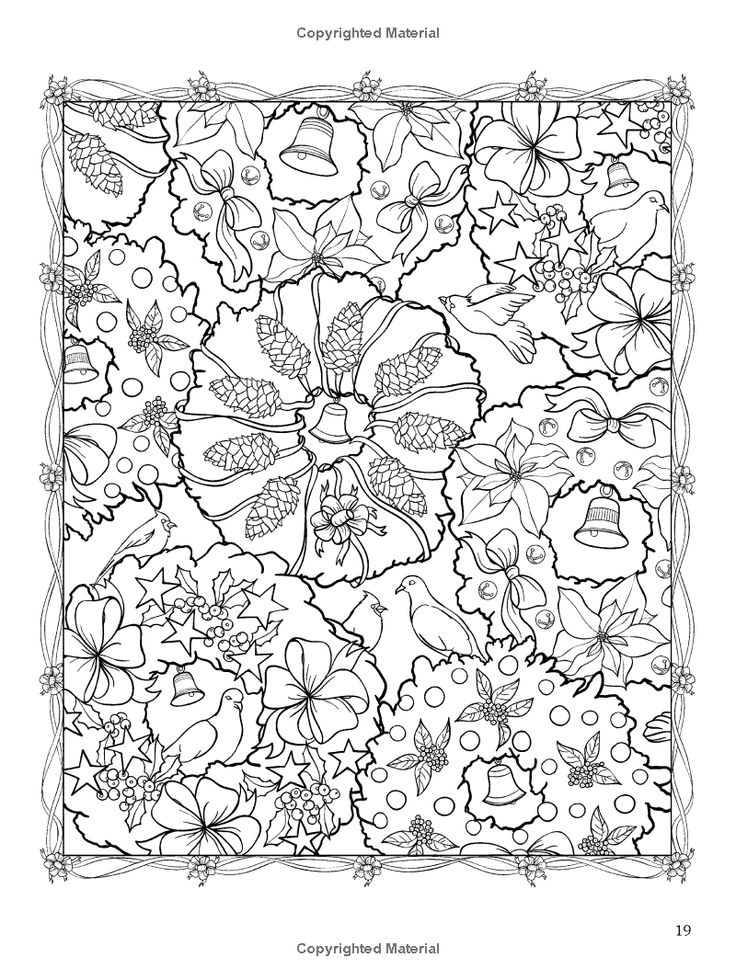 ChristmasScapes (Dover Holiday Coloring Book): Jessica Mazurkiewicz: 9780486471952: Amazon.com: Books: