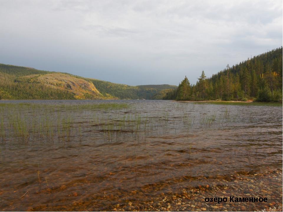 озеро Каменное