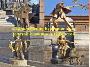 * «Приключения Буратино или Золотой ключик» А.Н.Толстой