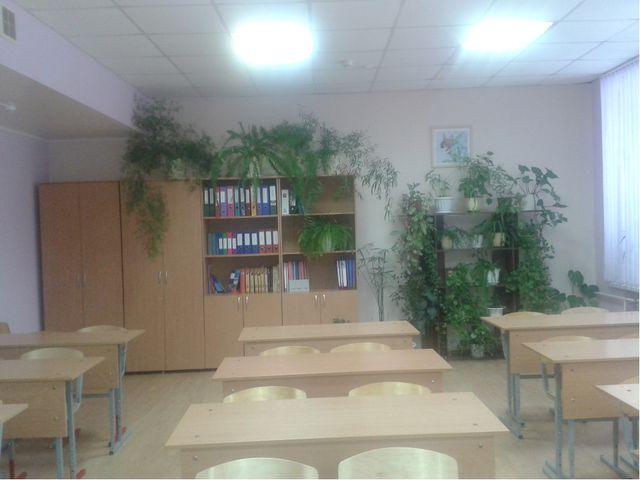В кабинете созданы все условия для учебной деятельности
