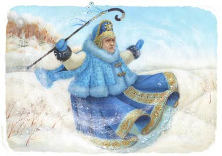 Взбесилась седая Старуха-Зима - стихи и проза на Избе-Читальне