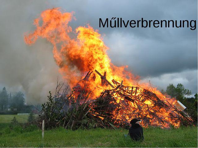 Műllverbrennung