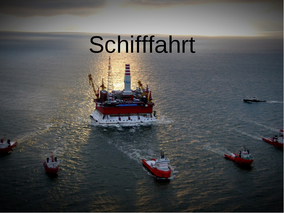 Schifffahrt