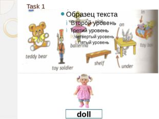 Task 1 doll