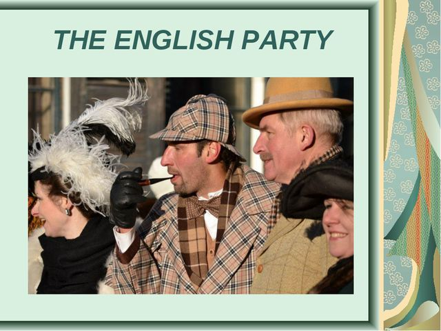 THE ENGLISH PARTY