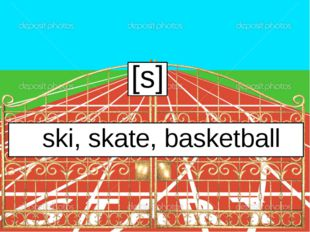 [s] ski, skate, basketball