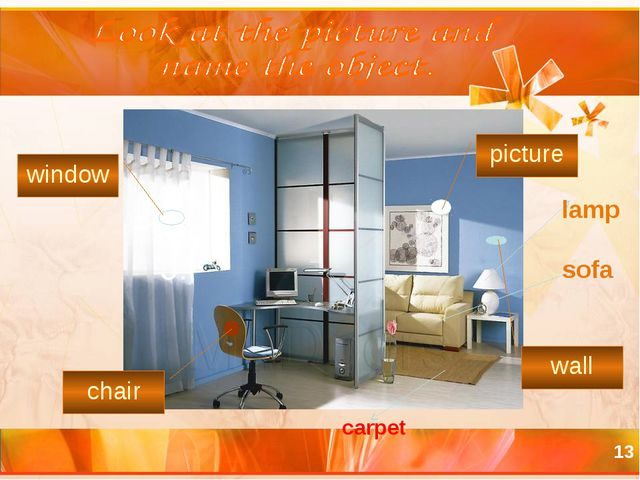 * picture chair window wall :c sofa lamp carpet