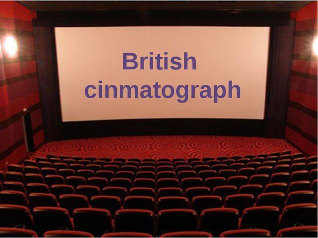 British cinmatograph