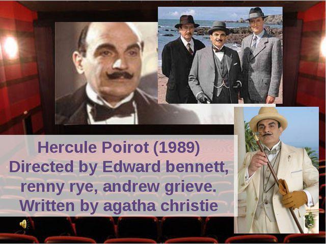 HerculePoirot (1989) Directed by Edward bennett, renny rye, andrew grieve. W...