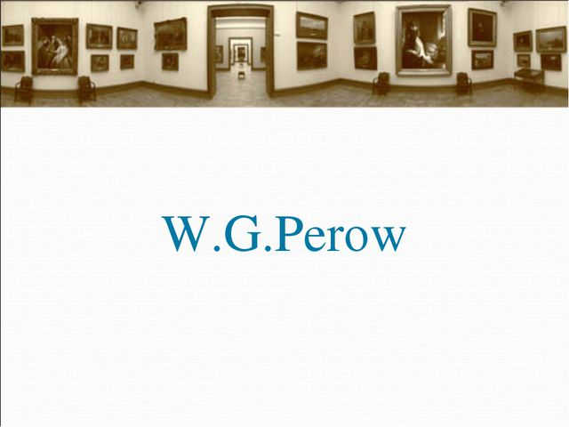 W.G.Perow