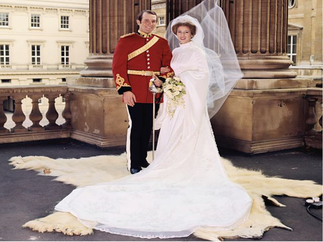 Wedding of Anne Elizabeth Alice Louise  Princess Royal and Timothy James Hami...