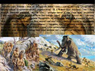 Энеолит (лат. Aeneus – мыс және грекше lithos – тас) – тас және қола ғасырыны