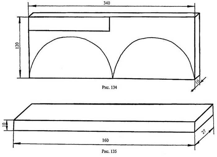 Чертеж салфетницы из фанеры своими руками чертежи 33