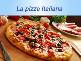 La pizza Italiana