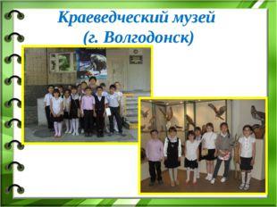 Краеведческий музей (г. Волгодонск)