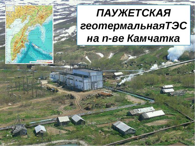 ПАУЖЕТСКАЯ геотермальнаяТЭС на п-ве Камчатка