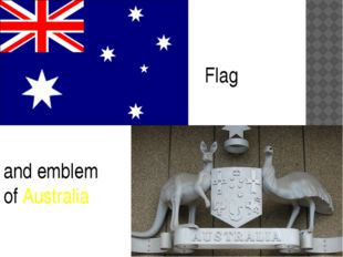 and emblem of Australia Flag