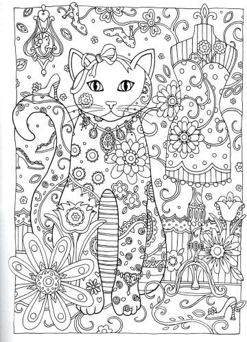 Creative Haven Creative Cats Dover Publications: