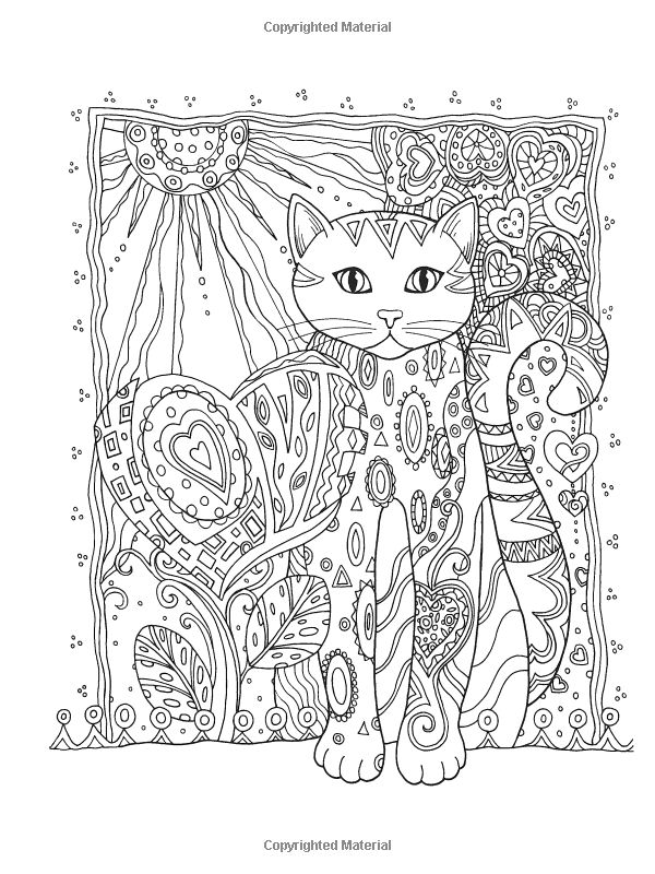 Creative Haven Creative Cats Coloring Book (Creative Haven Coloring Books): Marjorie Sarnat: 9780486789644: Amazon.com: Books: