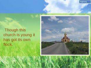 On the threshold of the church I was met by the father Vasilij who told me