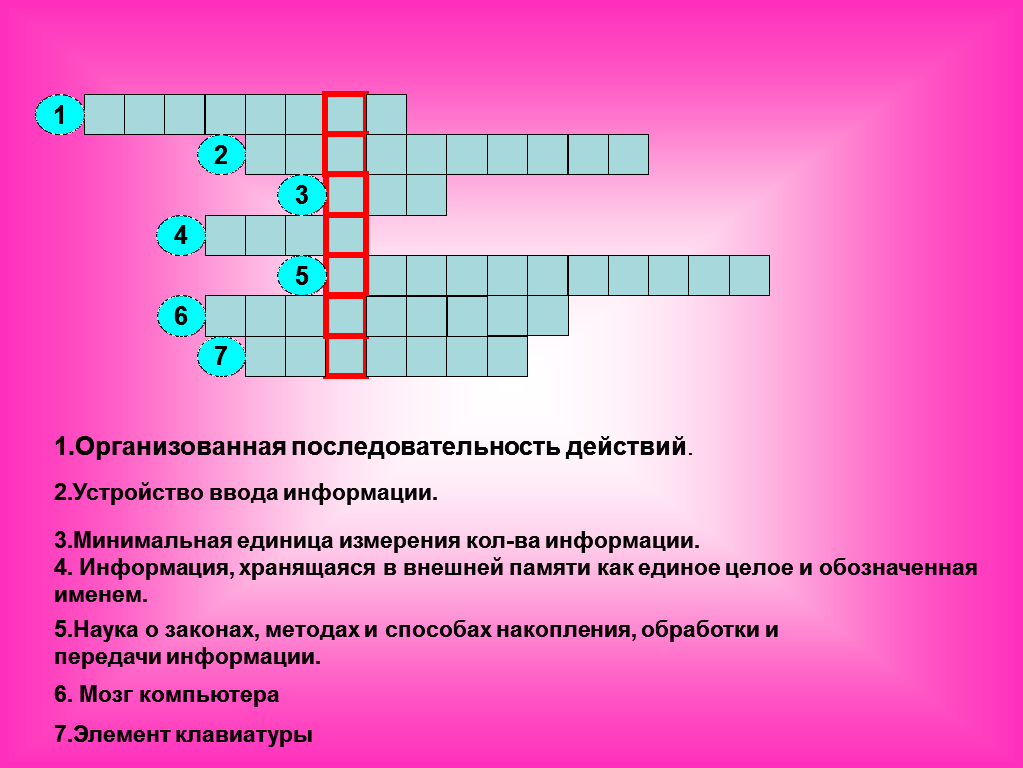 Кроссворд1