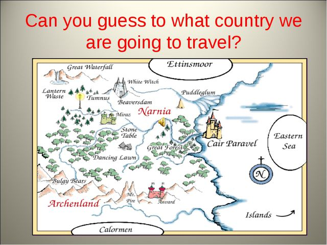 Can you guess to what country we are going to travel?