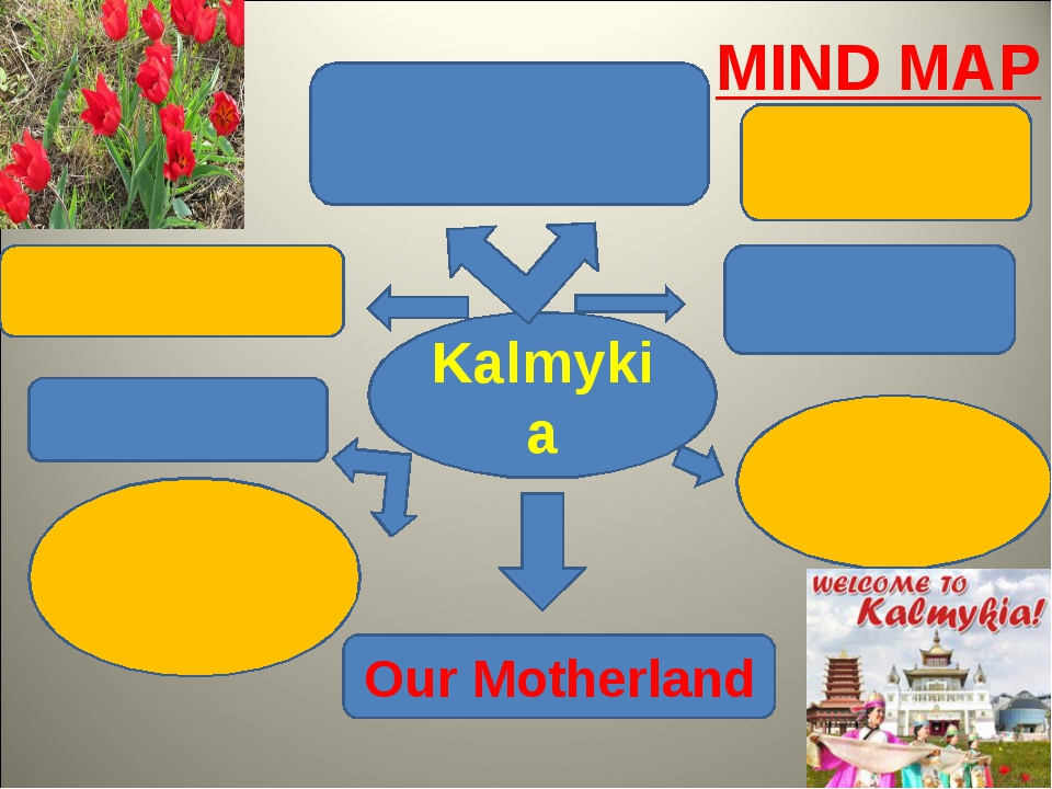 Kalmykia Our Motherland MIND MAP