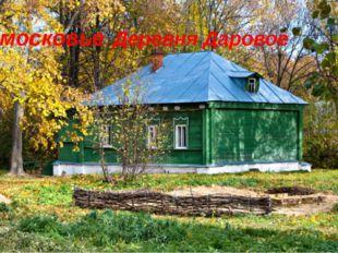 Подмосковье. Деревня Даровое