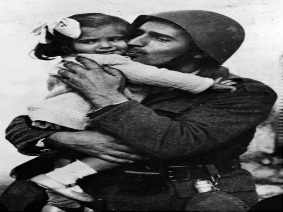 Картинки солдат спасает девочку