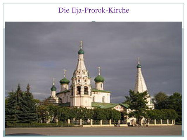 Die Ilja-Prorok-Kirche
