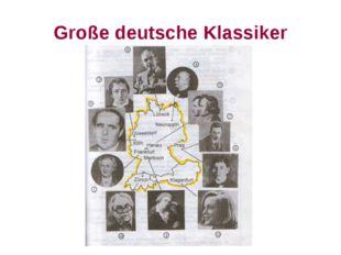 Große deutsche Klassiker