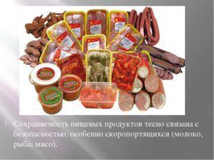 Сохраняемость пищевых продуктов тесно связана с безопасностью, особенно скоро