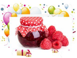 Бабушка из сладких ягод Наварила что-то. И его нам хватит на год К чаю и в ко