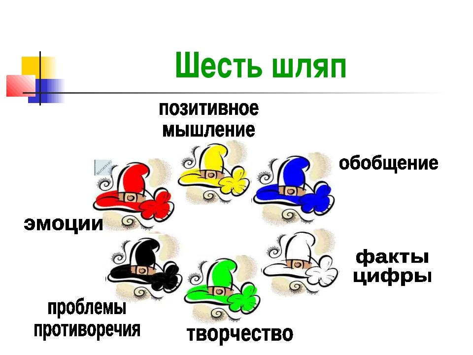 Шесть шляп