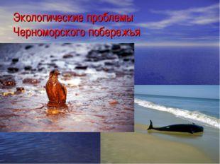 Экологические проблемы Черноморского побережья