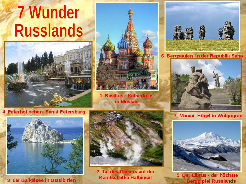 5 Der Elbrus - der höchste Berggipfel Russlands 2 Tal des Geisers auf der Kam...