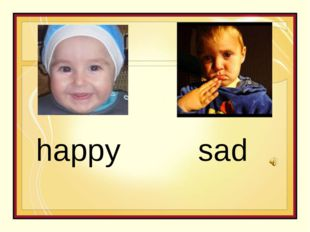 happy sad