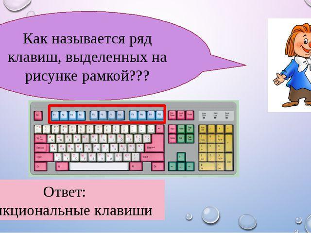 30 Ответ: клавиатура