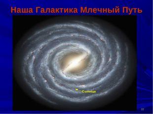 * Наша Галактика Млечный Путь