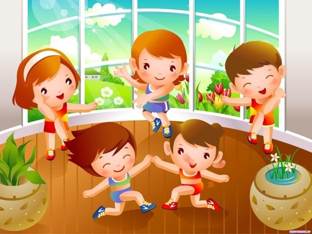 Тематические физкультминутки для дошкольников